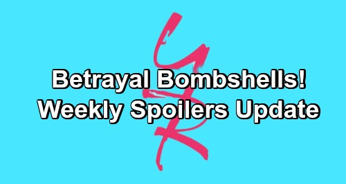 The Young and the Restless Spoilers: Week of December 31 – Betrayal Bombshells, Tight Spots and Stunning Confessions