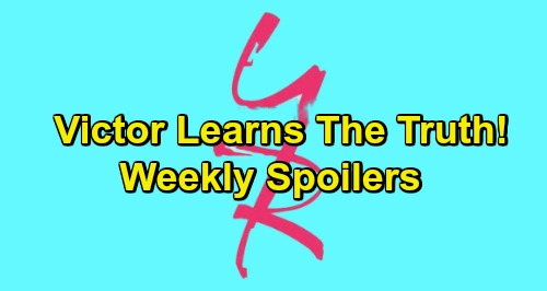 The Young and the Restless Spoilers: Week of January 7 – Victor Learns The Truth - Hot Temptation and Betrayal