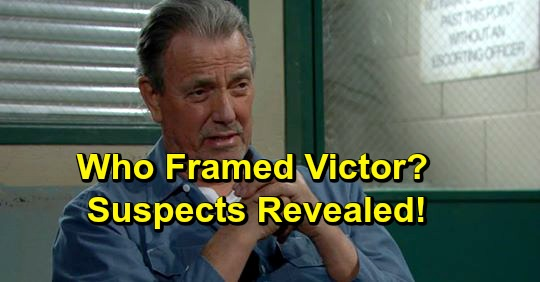 The Young and the Restless Spoilers: Who's Framing Victor Newman - Key Suspects Revealed