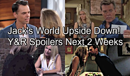 The Young and the Restless Spoilers Next 2 Weeks: Jack's World Turned Upside Down – Nick's Stunning News – Billy's Luck Runs Out