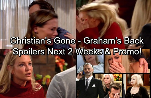 The Young and the Restless Spoilers: Next 2 Weeks - Graham's Dirty Tricks – Christian's Missing - Scott Begs Sharon's Forgiveness