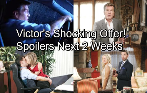 The Young and the Restless Spoilers for Next 2 Weeks: Jack's Trouble Doubles – Billy Gets Bold – Victor's Shocking Offer