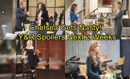 The Young and the Restless Spoilers for Next 2 Weeks: J.T. Crashes and Burns – Chelsea Gets Nasty – Hilary's Sperm Doner