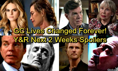 The Young and the Restless Spoilers: Next 2 Weeks - Devon and Hilary Make a Baby – Abbott Shocker - Victor's Deadly Visitor