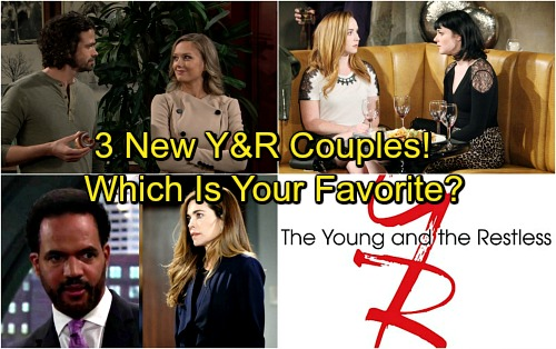 The Young and the Restless Spoilers: 3 New Genoa City Couples – Which One Do You Like The Best?