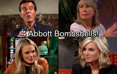 The Young and the Restless Spoilers: 4 Abbott Bombshells – Family Rocked by Huge Shockers and Shakeups