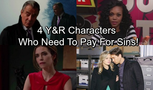 The Young and the Restless Spoilers: 4 Y&R Characters Who Deserve to Pay – Genoa City's Most Despicable Residents