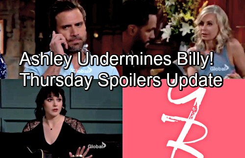 The Young and the Restless Spoilers: Thursday, May 24 – Nick's Fateful Decision – Tessa Rejects Kyle – Ashley Plots for Power