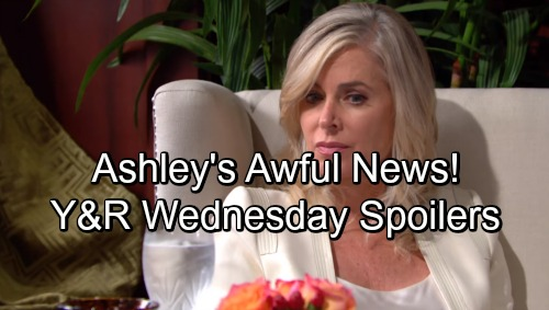 The Young and the Restless Spoilers: Wednesday, September 19 – Phyllis Faces a Bombshell – Sharon Scores Praise – Ashley's in a Jam