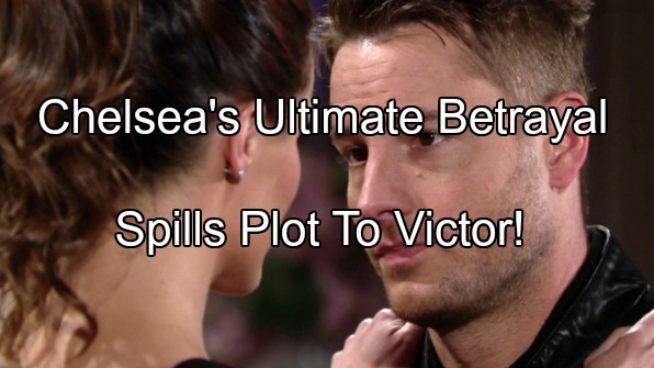 The Young and The Restless (Y&R) Spoilers: Chelsea Exposes Ian-Adam Escape Plan to Victor - Begs The Moustache For Help