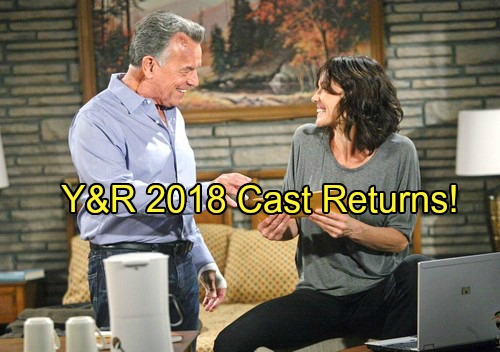 The Young and the Restless Spoilers: Y&R 2018 Cast Returns Including Ian Ward and Adam Newman – 5 Characters Shake Up GC