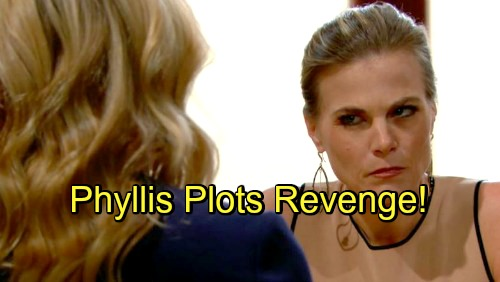 The Young and the Restless Spoilers: Phyllis Plots Revenge Against Summer - Makes Summer Pay For Pursuing Billy