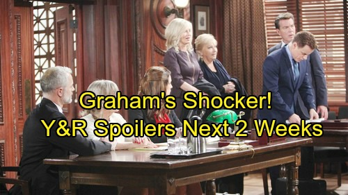 The Young and the Restless Spoilers: Next 2 Weeks - Graham's Shocking Move - Ashley Hunts a Thief – Tessa's on a Mission