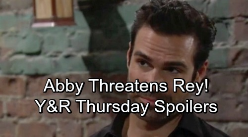 The Young and the Restless Spoilers: Thursday, September 6 – Nick's Honesty Vow to Sharon Brings Trouble – Abby Threatens Rey