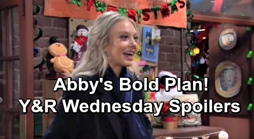 The Young and the Restless Spoilers: Wednesday, December 12 – Lauren Lays Down the Law – Abby's Bold Plan