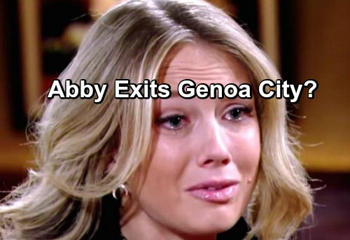 'The Young and the Restless' Spoilers: Abby Has No Storyline Left – Time to Exit Genoa City?