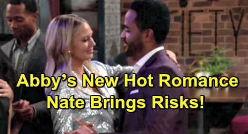The Young and the Restless Spoilers: Abby's Hot Romance Kicks Off – Can't Resist Charming Nate, But New Love Brings Risks