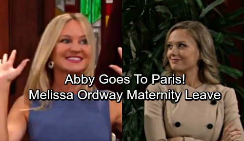 The Young and the Restless Spoilers: Abby Leaves for Paris – Maternity Leave Kicks In - Shott Over, Scabby Shelved