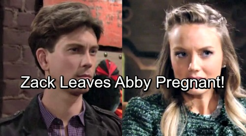 The Young and the Restless Spoilers: Is Abby Pregnant By Zack – Criminal's Child Becomes Newman Heir