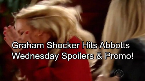 The Young and the Restless Spoilers: Wednesday, January 3 - Graham's Mayhem Begins – Sharon's Revenge Tour - Jack Fails Dina