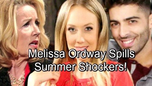 The Young and the Restless Spoilers: Melissa Ordway Names Ultimate Y&R Power Couple - Leaks Summer Romance News