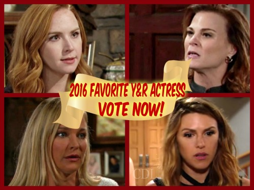 The Young and the Restless Spoilers: Best Y&R Actress Poll – Vote for Your Favorite Female Performer of 2016