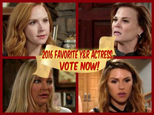 "<script type=""text/javascript"" charset=""utf-8"" src=""http://static.polldaddy.com/p/9622102.js""></script> <noscript><a href=""http://polldaddy.com/poll/9622102/"">Vote For Your Favorite 2016 Y&R Actress!</a></noscript>"