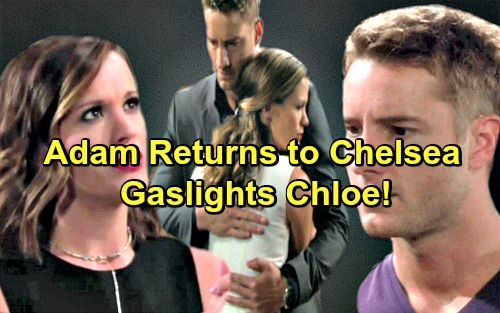 The Young and the Restless Spoilers: Adam and Chelsea Cook Up Scheme – Chloe Cracks After Adam's Ghost Visits?