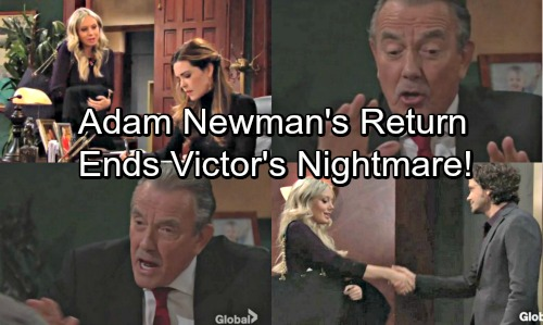 The Young and the Restless Spoilers: Sibling Sabotage Brings Victor's Nightmare – Adam's Return Saves Newman Enterprises