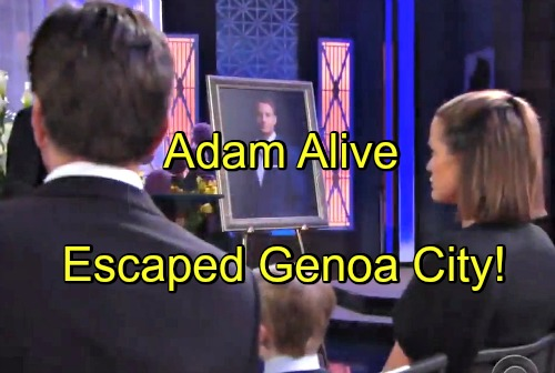 'The Young and the Restless' Spoilers: Adam Alive, Not Dead – Escaped Genoa City After Explosion