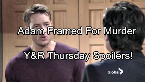 The Young and the Restless (Y&R) Spoilers: Victor Frames Adam for Constance Bingham Murder - Summer Forges Victoria Signature