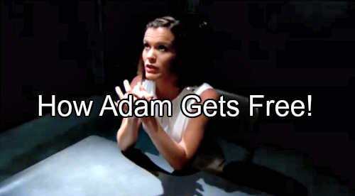 The Young and the Restless Spoilers: Adam's Sentence Overturned - Dreams and Flashbacks Telegraph Prison Release