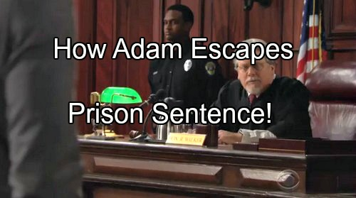 'The Young and The Restless' Spoilers: Adam's Escape From 30 Year Prison Sentence Based On Real Supreme Court Decision