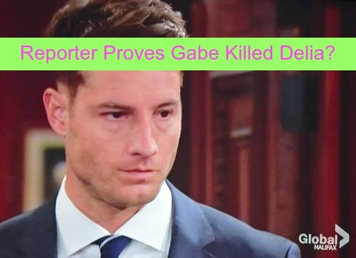 The Young and the Restless (Y&R) Spoilers: Reporter Discovers Truth About Gabe Bingham and Delia's Death - Adam Innocent!