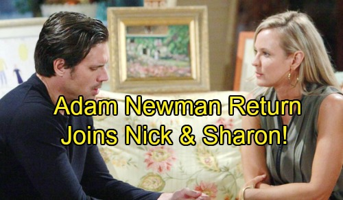 'The Young and the Restless' Spoilers: Adam Newman's Return and Christian's Paternity Reveal Joins Nick and Sharon