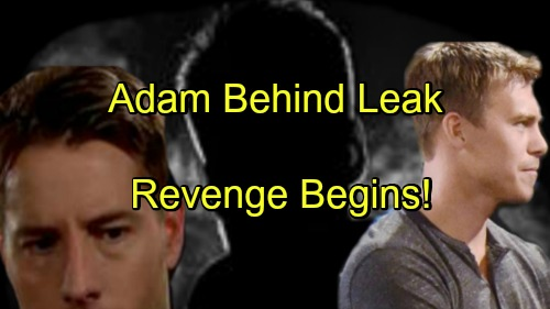 The Young and the Restless Spoilers: Adam Newman Behind Leak of Incriminating Financial Info – Travis' Suspicions Confirmed