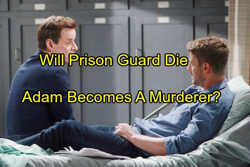 The Young and the Restless Spoilers: Victor Turns Adam Into A Real Murderer - Prison Guard In Coma Dies?