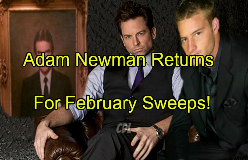 'The Young and the Restless' Spoilers: Adam Newman Returns To Y&R For February Sweeps – Nick Loses Christian Again