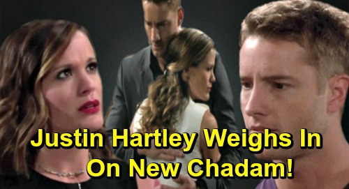The Young and the Restless Spoilers: Justin Hartley Weighs In On New Chadam Pairing