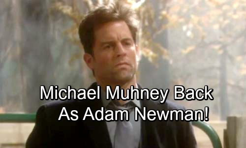 The Young and the Restless Spoilers: Hot Blind Item Points to Major Return – Michael Muhney Finally Back as Adam Newman?