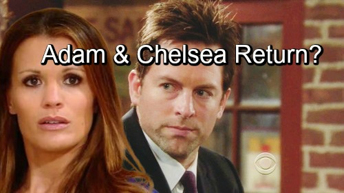 The Young and the Restless Spoilers: Hot Story for Fans Drives Y&R's Next Big Mystery - Adam Newman's Return Sets Up Chelsea Reunion?