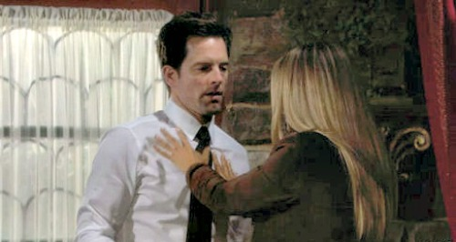 The Young and the Restless Spoilers: Sharon Case and Michael Muhney Reunite - Adam Newman Return Possible