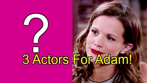 The Young and the Restless Spoilers: Three Actors Possible For Adam Newman Role, Melissa Claire Egan Says No 'New' Face