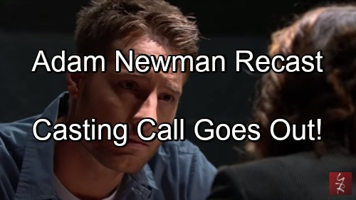 'The Young and the Restless' Spoilers: Disguised Casting Call Is Adam Newman Recast – Justin Hartley's Departure Imminent