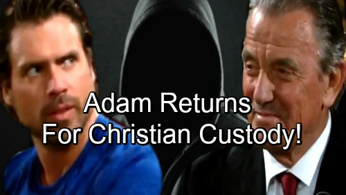 The Young and the Restless Spoilers: Adam Newman's Return Issue Alive – Christian's Custody Battle Creates Resurrection Story