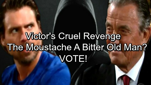 The Young and the Restless Spoilers: The Moustache Hates Nick More Than Adam After GC Buzz Interview - Is Victor A Bitter Old Man?