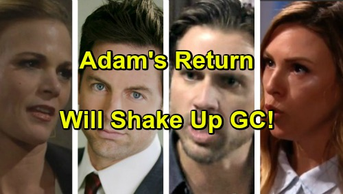 The Young and the Restless Spoilers: Adam Newman's Return To Genoa City Rocks Several Characters' Lives