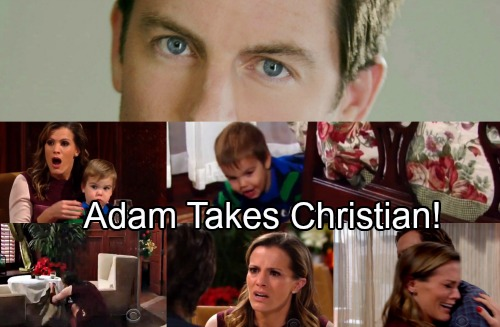 The Young and the Restless Spoilers: Adam Newman Back in Genoa City, Takes Christian – Chelsea and Nick Get a Huge Shock