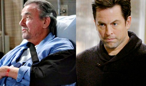 The Young and the Restless Spoilers: May Sweeps Shocker - Adam Newman Returns – Fight with Victor Puts The Moustache in Hospital