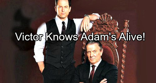 The Young and the Restless Spoilers: Victor Let Chloe Escape Because He Knows Adam Newman Is Alive